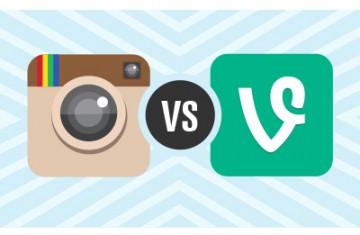 Instagram vs Vine: competencia entre plataformas para compartir vídeo