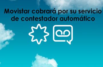 Movistar cobrará por su servicio de contestador automático