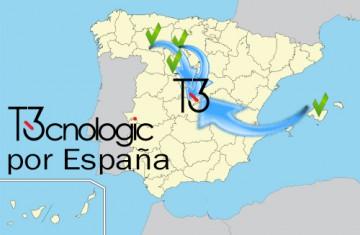 El equipo humano de T3cnologic (II) – Viaje por España