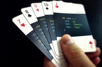 La baraja de poker de los programadores
