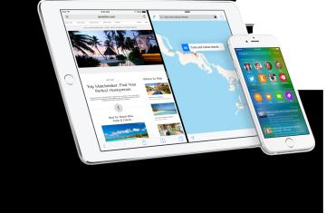 Novedades anunciadas en iOS9