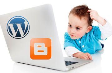 Crear un blog – ¿WordPress o Blogger?