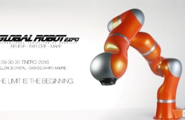 Global Robot Expo se celebrará en Madrid en Enero 2016